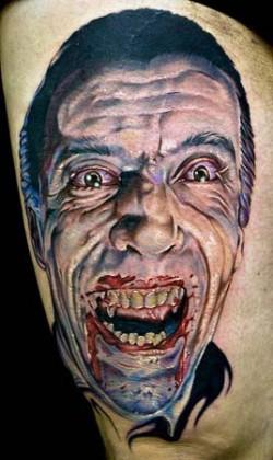 Dracula tattoo