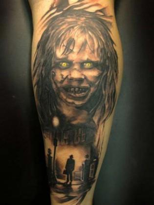 L'esorcista tattoo