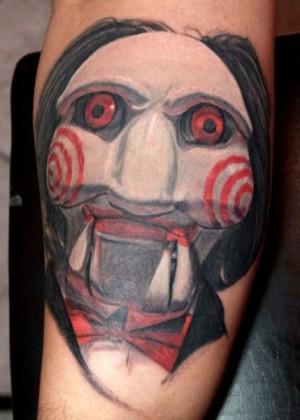 Saw tattoo