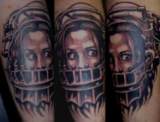 Saw tattoo