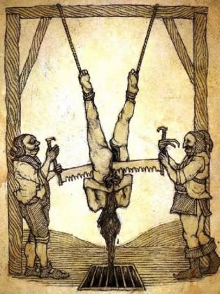 7 La sega - Torture medioevali