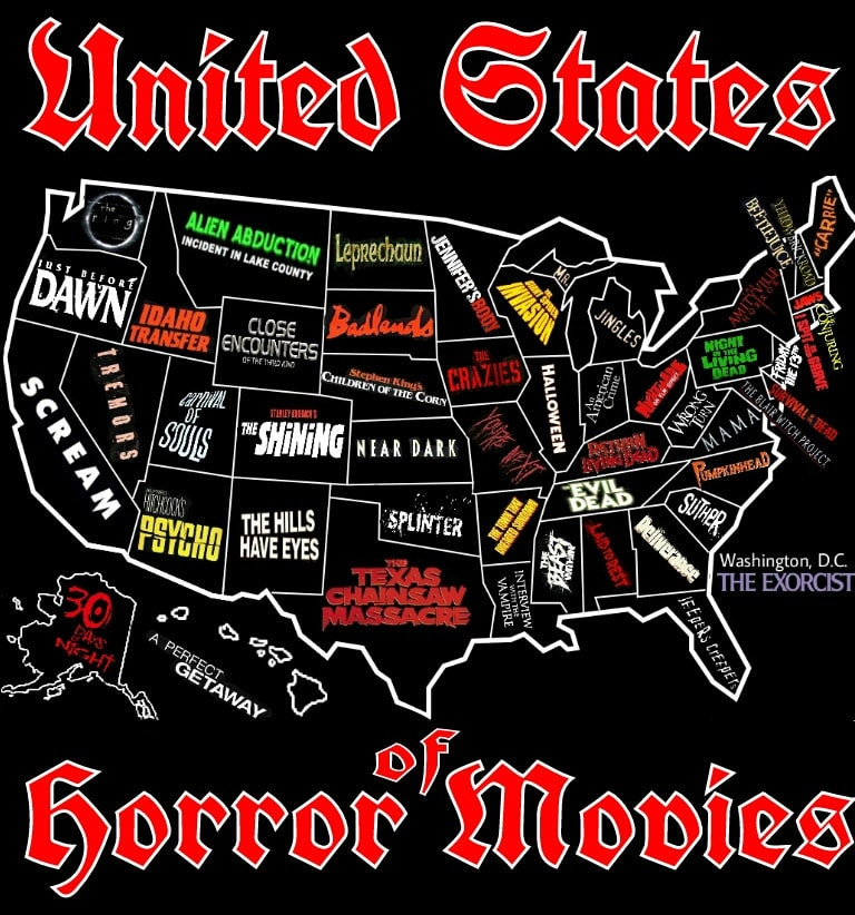 United State of horror movies