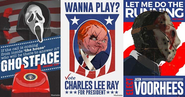 icone horror candidate alla presidenza