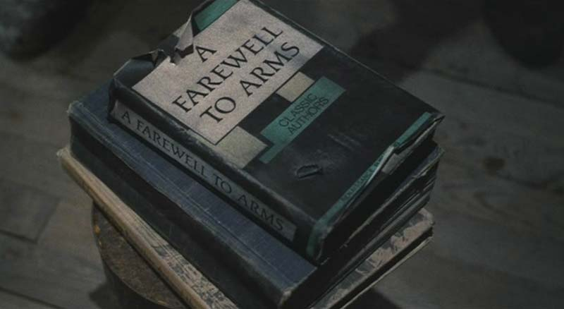 Addio alle armi (A Farewell to Arms) di Ernest Hemingway - The Evil Dead 2