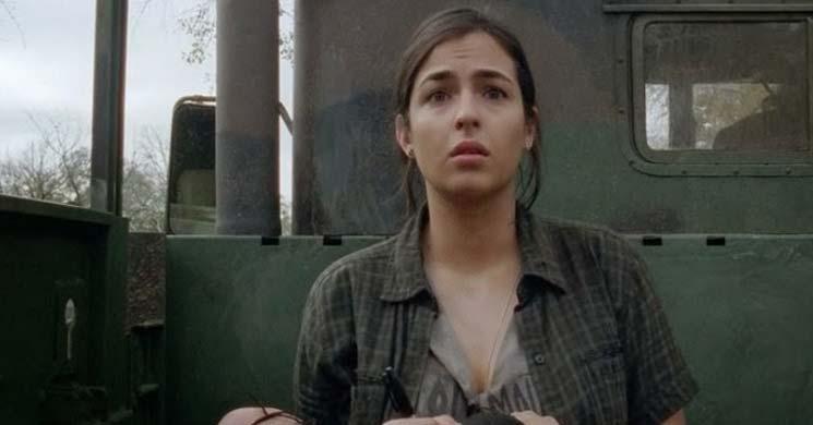 Alanna Masterson - Tara in The Walking Dead