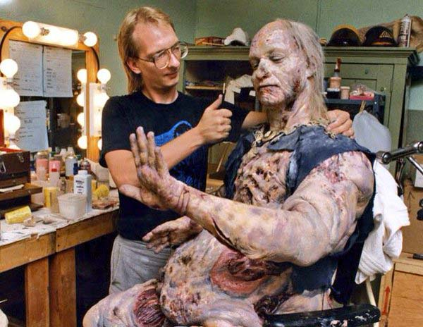Ted Raimi - make up di Henrietta