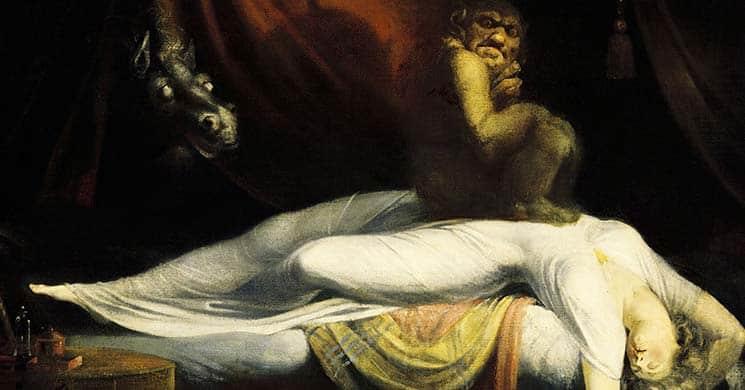 Nocnitsa, il demone del sonno