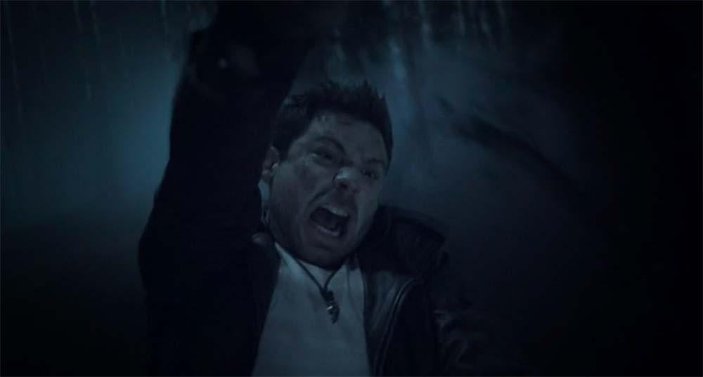 Ash vs Evil Dead - Dalton travolto dal demone kandariano