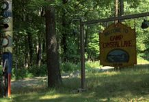 Camp Crystal Lake tour