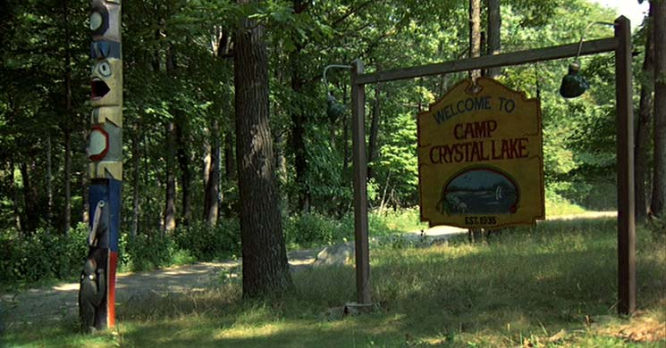 Camp Crystal Lake tour
