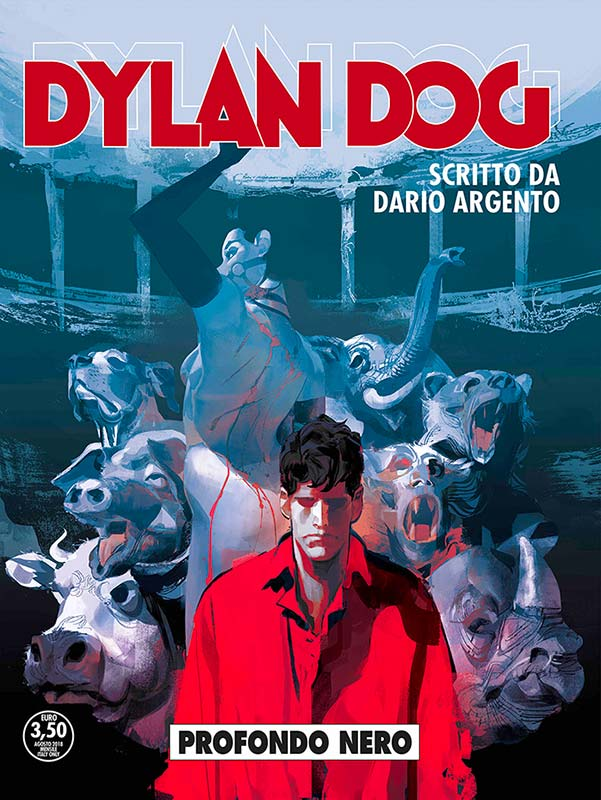Dylan Dog scritto da Dario Argento - Copertina