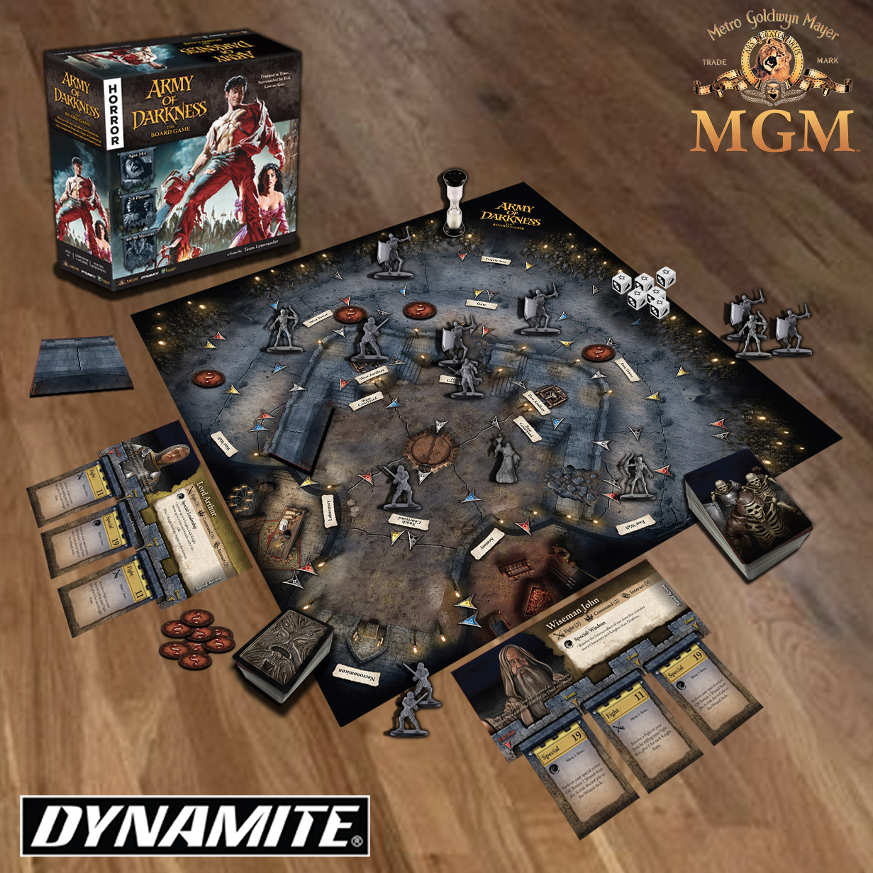 Army of Darkness - board game Dynamite