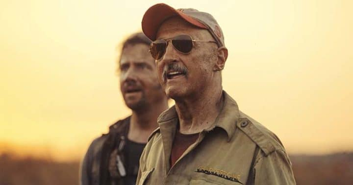 Jamie Kennedy e Michael Grosso in Tremors 5 - Bloodlines