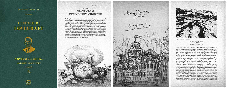 I luoghi di Lovecraft. Novissima guida ad uso del viaggiatore - Anteprima