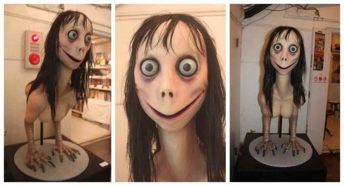"""La scultura """"Momo"""" dell'artista giapponese Keisuke Aisawa"""