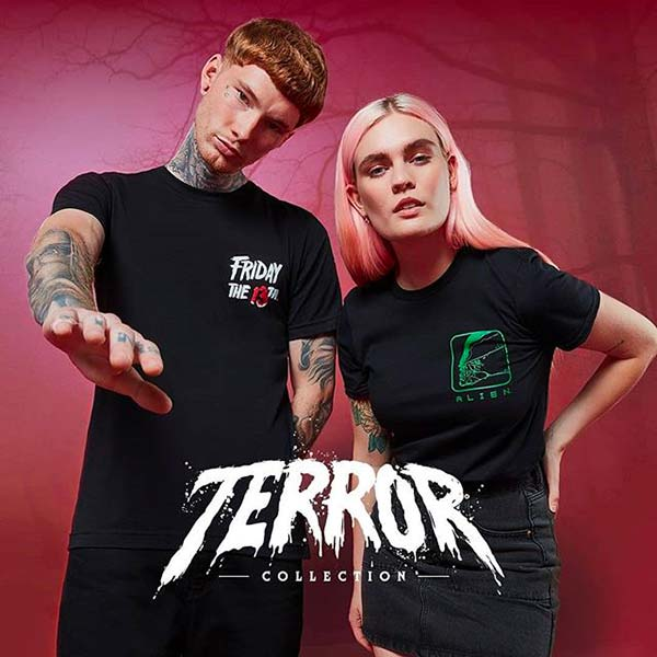 T-shirt Horror - Zavvi