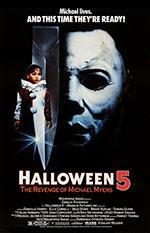 Halloween 5 – La vendetta di Michael Myers - Locandina