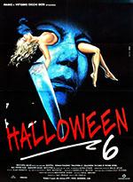 Halloween 6 – La maledizione di Michael Myers (1995) - locandina