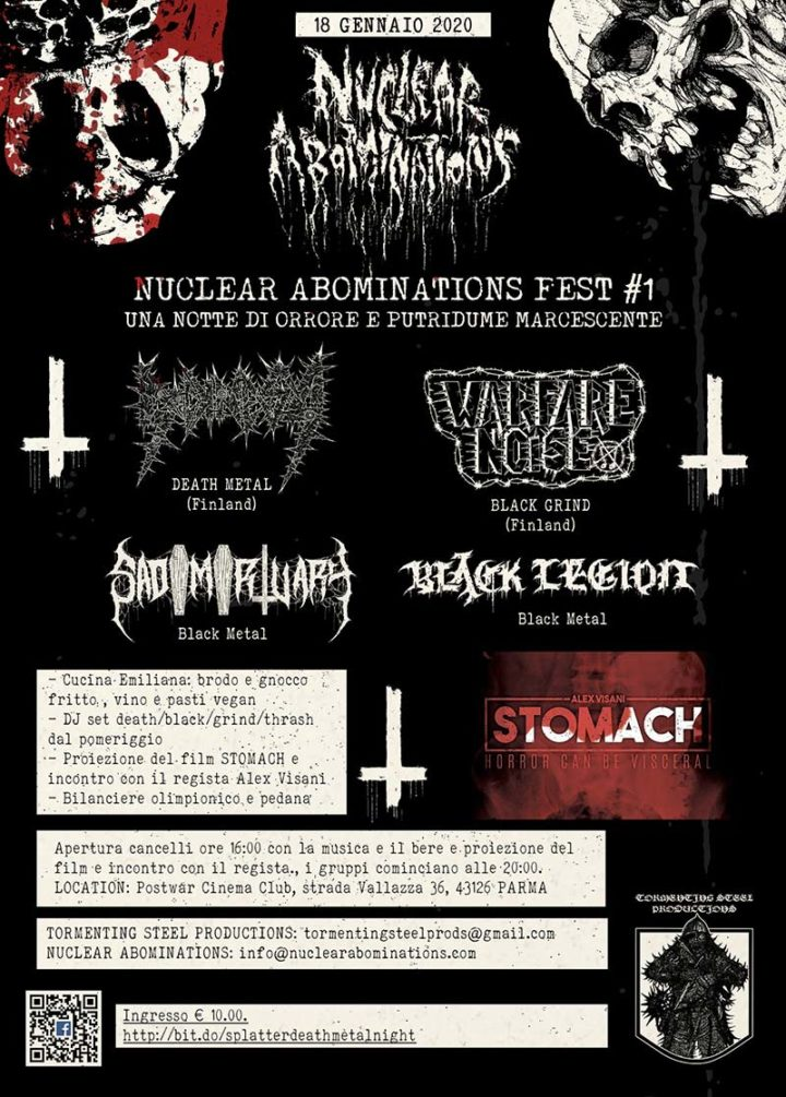 Nuclear Abominations Fest - Locandina