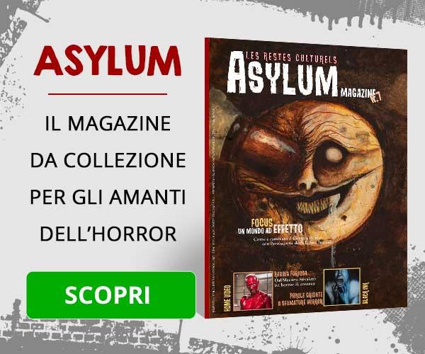 Asylum magazine horror banner