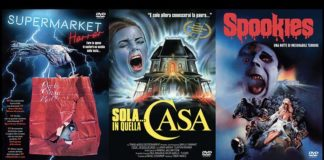 L'horror anni '80 esplode in dvd con Supermarket horror, Spookies e Sola… in quella casa