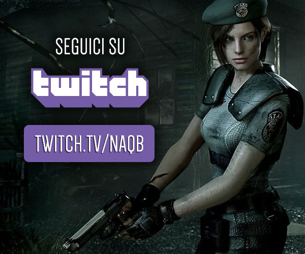 Segui NAQB su Twitch