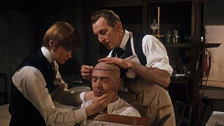 Peter Cushing in Distruggete Frankenstein - Terence Fisher (1969)