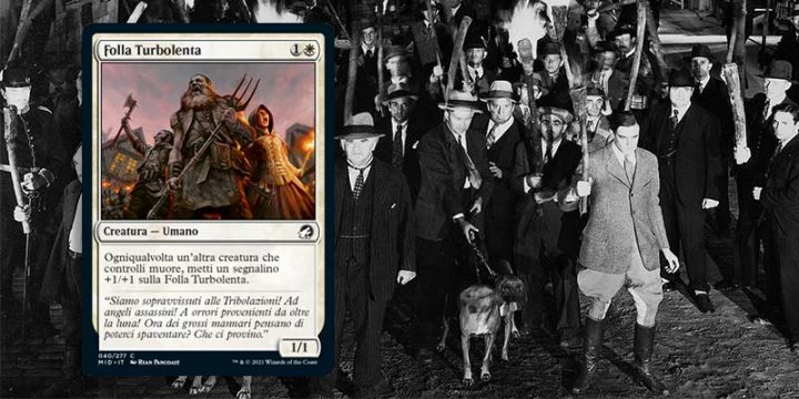 Frankenstein - Folla Turbolenta - Magic The Gathering
