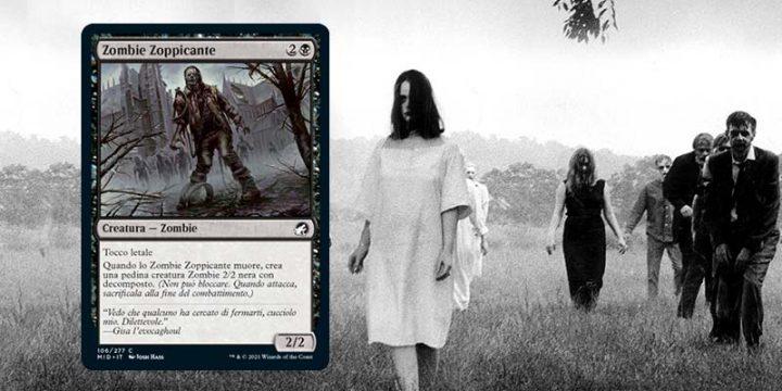 La notte dei morti viventi - Zombie zoppicante - Magic The Gathering