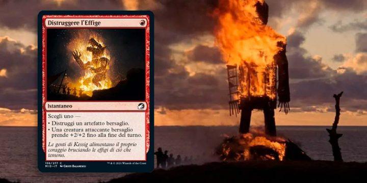 The Wickerman - Distruggere l'effige - Magic The Gathering
